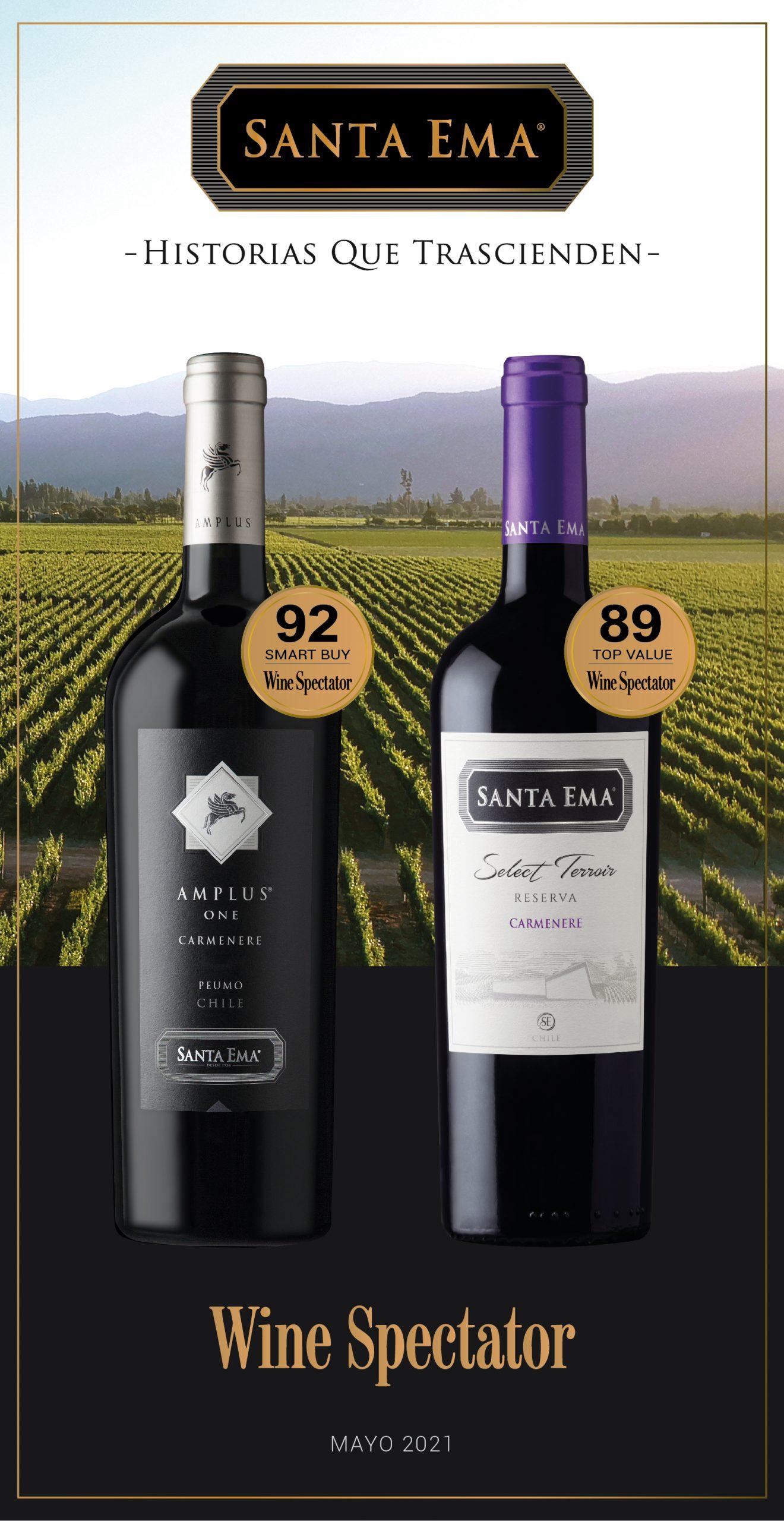 Reconocimientos Wine Spectator 2021