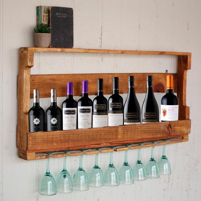 Crea tu propio mueble para vinos